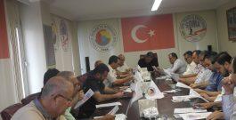 SOMA TSO MECLİS ÜYELERİNE,  SOMA OSB HAKKINDA BİLGİLENDİRME TOPLANTISI YAPILDI