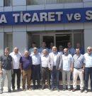 CHP SOMA İLÇE TEŞKİLATI, SOMA TSO'YU ZİYARET ETTİ