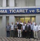 MHP SOMA İLÇE TEŞKİLATI, SOMA TSO'YU ZİYARET ETTİ