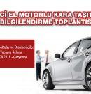 İKİNCİ EL MOTORLU KARA TAŞITLARI HK.