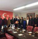SOMA AK PARTİ GENÇLİK KOLLARI SOMA TSO'YU ZİYARET ETTİ
